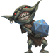 Paizo Goblin with D20